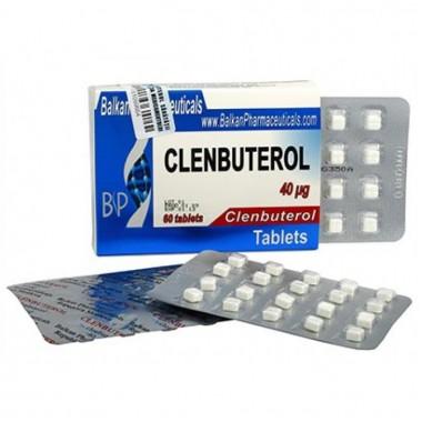Clenbuterol Кленбутерол 40 мкг, 100 таблеток, Balkan Pharmaceuticals в Петропавловске