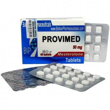 Provimed Провимед Провирон 50 мг, 20 таблеток, Balkan Pharmaceuticals в Петропавловске