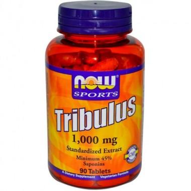 Tribulus Трибулус 1000 мг, 90 таблеток, Now Sports в Петропавловске