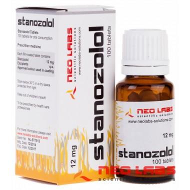 Stanozolol Станозолол 12 мг, 100 таблеток, Neo Labs в Петропавловске