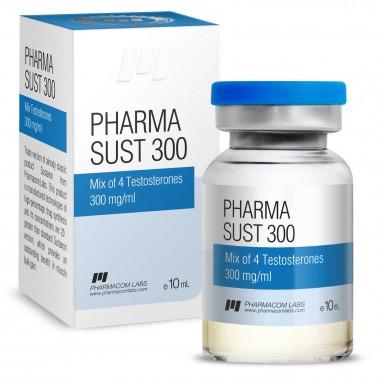 PHARMASUST 300 Тестостерон Микс 300 мг/мл, 10 мл, Pharmacom LABS в Петропавловске