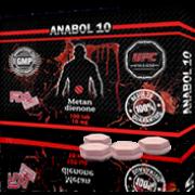 ANABOL 10 Анабол Метан Метандиенон 10 мг, 100 таблеток, UFC PHARM