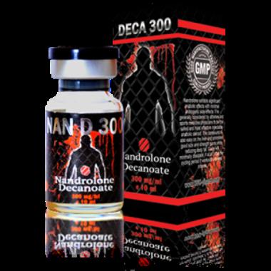 NAN DECA 300 Дека 300 мг/мл, 10 мл, UFC PHARM в Петропавловске