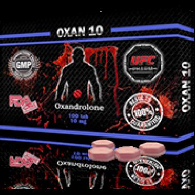 OXAN 10 Оксандролон 10 мг, 100 таблеток, UFC PHARM в Петропавловске