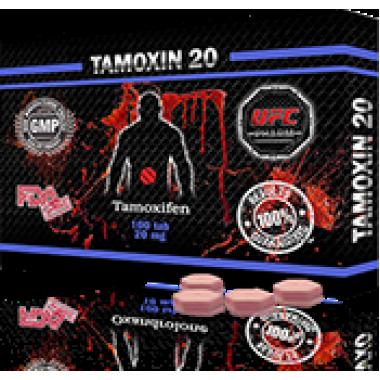 TAMOXIN 20 Тамоксифен 20 мг, 50 таблеток, UFC PHARM в Петропавловске