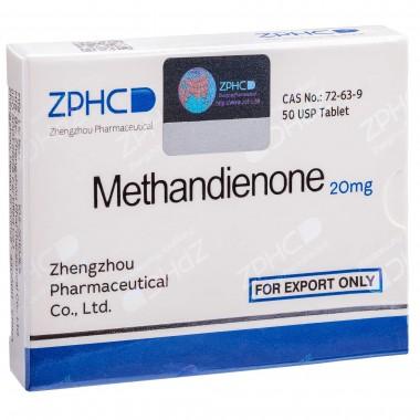 Methandienone Метандиенон 20 мг, 50 таблеток, ZPHC в Петропавловске