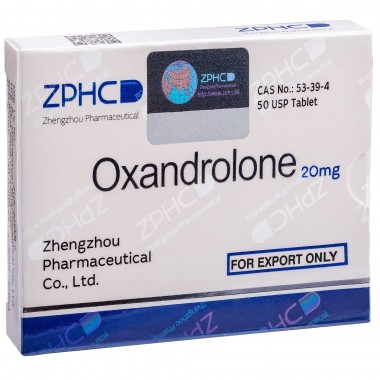 Oxandrolone Оксандролон 20 мг, 50 таблеток, ZPHC в Петропавловске