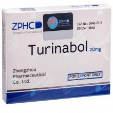 Turinabol Туринабол 20 мг, 50 таблеток, ZPHC