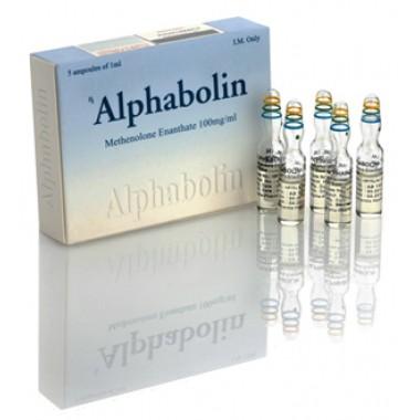Alphabolin (Метенолон) Alpha Pharma 10 ампул по 1мл (1амп 100 мг) в Петропавловске