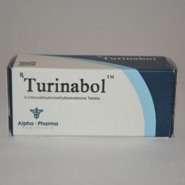 Turinabol (Туринабол) Alpha Pharma 50 таблеток (1таб 10 мг) в Петропавловске